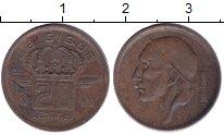 Изображение Монеты Европа Бельгия 20 сентим 1953 Медь