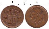 Изображение Монеты Европа Бельгия 50 сантим 1974 Медь XF