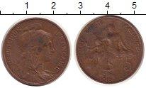 Изображение Монеты Европа Франция 5 сантим 1916 Медь