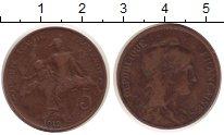 Изображение Монеты Франция 5 сантим 1912 Медь