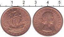 Изображение Мелочь Великобритания 1/2 пенни 1967 Медь UNC- Елизавета II.