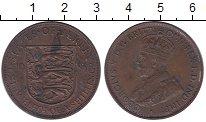Изображение Монеты Остров Джерси 1/12 шиллинга 1933 Медь XF Георг V.