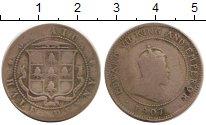 Изображение Монеты Северная Америка Ямайка 1/2 пенни 1907 Медно-никель VF