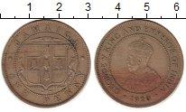 Изображение Монеты Северная Америка Ямайка 1 пенни 1920 Медно-никель XF