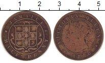 Изображение Монеты Ямайка 1/2 пенни 1880 Медь VF
