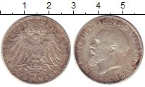 Изображение Монеты Бавария 2 марки 1914 Серебро VF+