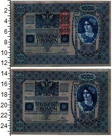 Изображение Банкноты Австрия 1000 крон 1902  UNC-