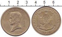 Изображение Монеты Азия Филиппины 1 песо 1974 Медно-никель XF