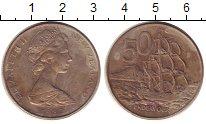 Изображение Монеты Новая Зеландия 50 центов 1982 Медно-никель XF-
