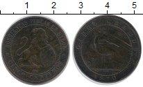 Изображение Монеты Европа Испания 5 сентим 1870 Бронза VF