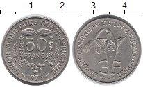 Изображение Монеты Западная Африка 50 франков 1975 Медно-никель XF+