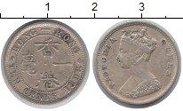 Изображение Монеты Гонконг 10 центов 1898 Серебро XF