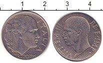 Изображение Дешевые монеты Италия 20 сентесим 1940 Медно-никель XF