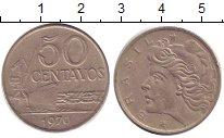 Изображение Дешевые монеты Южная Америка Бразилия 50 сентаво 1970 Медно-никель XF