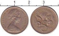 Изображение Дешевые монеты Австралия 5 центов 1976 Медно-никель XF-
