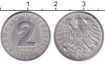 Изображение Дешевые монеты Европа Австрия 2 гроша 1954 Алюминий XF-