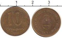 Изображение Дешевые монеты Аргентина 10 сентаво 2008 Медно-никель Fine