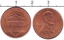 Изображение Дешевые монеты США 1 цент 2013 Медно-никель XF+