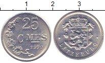Изображение Дешевые монеты Люксембург 25 сантим 1970 Алюминий XF-