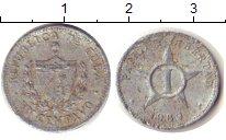 Изображение Дешевые монеты Куба 1 сентаво 1968 Алюминий F