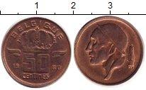 Изображение Дешевые монеты Европа Бельгия 50 сентим 1980 Медь XF
