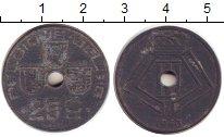 Изображение Дешевые монеты Бельгия 25 сантим 1943 Цинк VF-