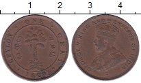 Изображение Монеты Цейлон 1 цент 1928 Бронза XF