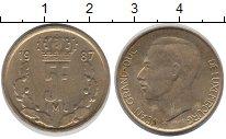 Изображение Дешевые монеты Люксембург 5 франков 1987 Латунь VF