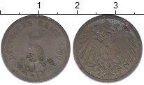 Изображение Дешевые монеты Германия 5 пфеннигов 1900 Железо F