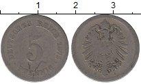 Изображение Дешевые монеты Европа Германия 5 пфеннигов 1878 Железо F