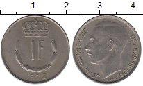Изображение Дешевые монеты Европа Люксембург 1 франк 1972 Медно-никель XF