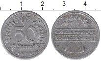 Изображение Дешевые монеты Германия 50 пфеннигов 1921 Алюминий VF-