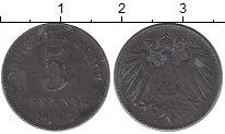 Изображение Дешевые монеты Германия 5 пфеннигов 1917 Железо F