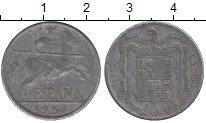 Изображение Дешевые монеты Европа Испания 10 сентим 1953 Алюминий VG