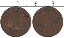 Изображение Дешевые монеты Германия 1 пфенниг 1935 Медь VF-