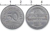 Изображение Дешевые монеты Европа Германия 50 пфеннигов 1921 Алюминий XF-
