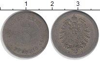 Изображение Дешевые монеты Европа Германия 5 пфеннигов 1876 Медно-никель VF-