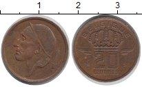 Изображение Дешевые монеты Бельгия 20 сантим 1955 Медь XF-
