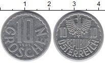 Изображение Дешевые монеты Европа Австрия 10 грош 1981 Алюминий XF