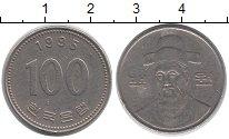 Изображение Дешевые монеты Южная Корея 100 вон 1995 Медно-никель VF