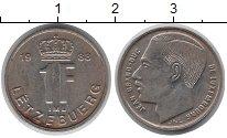 Изображение Дешевые монеты Европа Люксембург 1 франк 1988 Медно-никель VF-