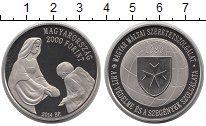 Изображение Монеты Венгрия 2000 форинтов 2014 Медно-никель Proof