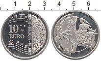 Изображение Монеты Бельгия 10 евро 2004 Серебро Proof