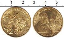 Изображение Монеты Польша 2 злотых 2012 Латунь XF Палитра, герб над но