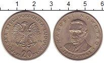 Изображение Монеты Польша 20 злотых 1974 Медно-никель XF Марцели Новотко - ге