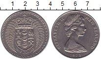 Изображение Монеты Австралия и Океания Новая Зеландия 1 доллар 1975 Медно-никель UNC-