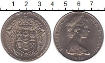 Изображение Монеты Австралия и Океания Новая Зеландия 1 доллар 1973 Медно-никель UNC-