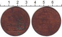 Изображение Монеты Великобритания 1 пенни 1812 Медь XF-