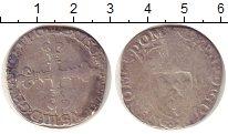 Изображение Монеты Европа Франция 1/4 экю 1589 Серебро VF