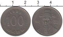 Изображение Дешевые монеты Азия Южная Корея 100 вон 1991 Медно-никель XF